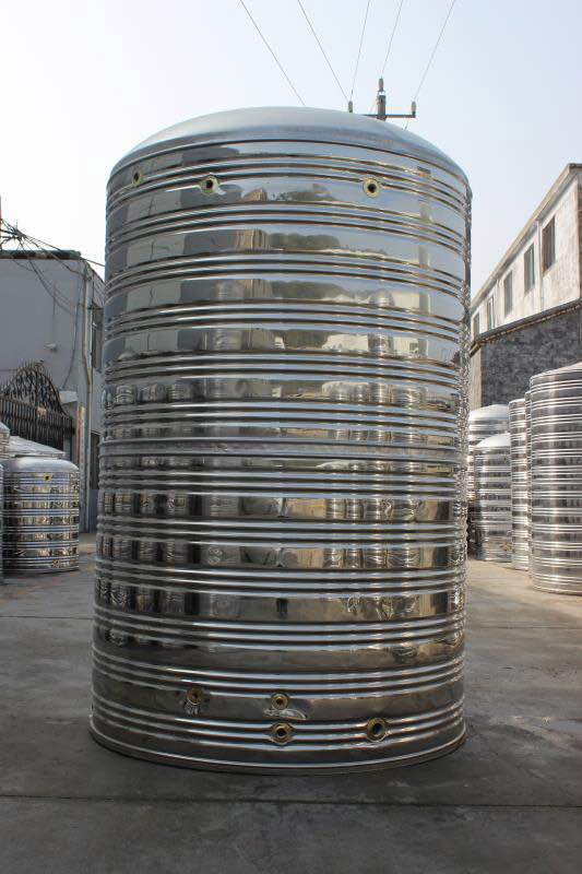 模板压机对不锈钢水箱的帮助